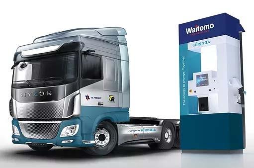 Hyzon wird 1.500 Wasserstoff-LKWs an das neuseeländische Unternehmen Hiringa liefern