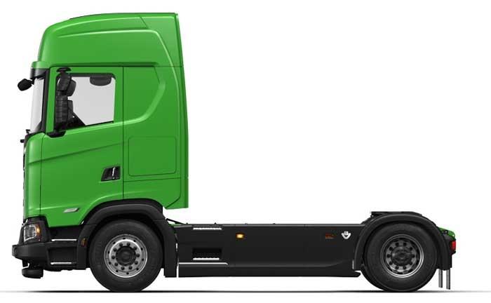 Scania S650 V8 4x2 — trekker met hoge cabine