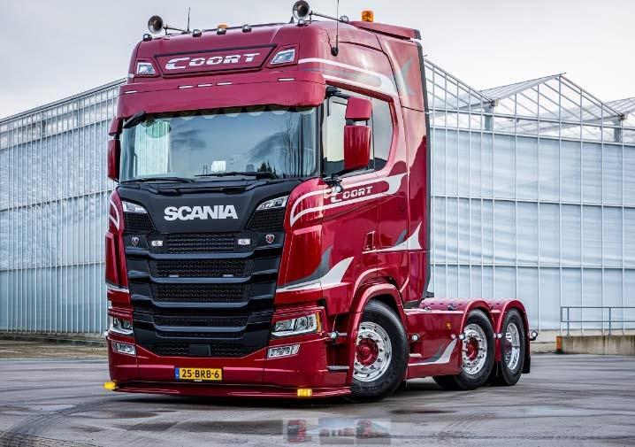 Scania S500 6x2 trekker