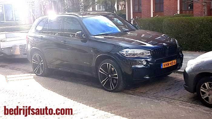 BMW X5 XDrive 40D- grijs kenteken