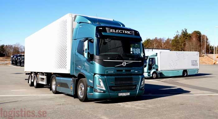 Volvo Trucks beginnt mit dem Verkauf von elektrischen FH, FM und FMX