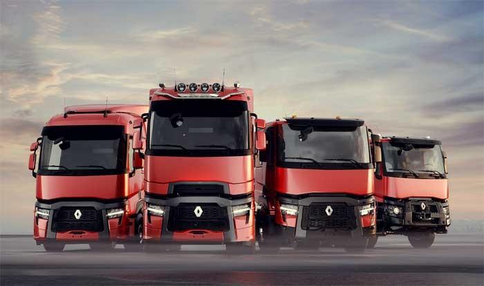Renault Trucks vernieuwt zijn T, T High, C en K ranges