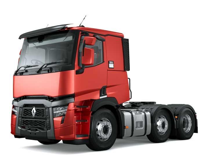 Renault Trucks T 460 6x2 Voorloopas