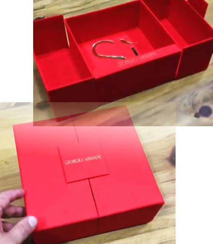 FACTORY Gift box for perfume