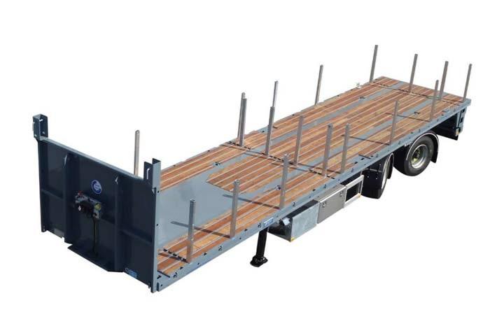 Rino CT3802Ks — heavy duty open citytrailer
