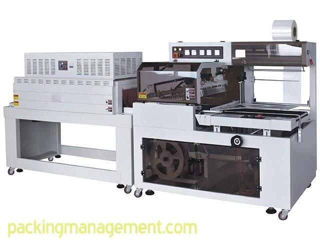 Changland Packing Machine BF550 Automatic Side Sealer and BS5530LN Hot Air Circulation Shrink Machine