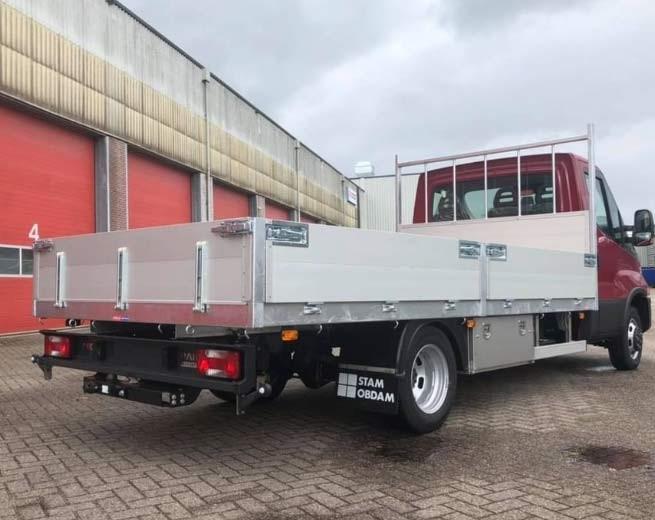 FeldStam Pritschenaufbauten für Transporter-Chassis