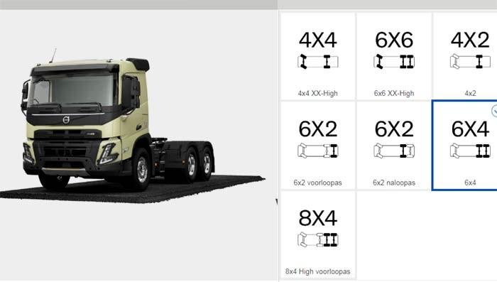 Volvo Trucks Truck Builder en Augmented Reality App