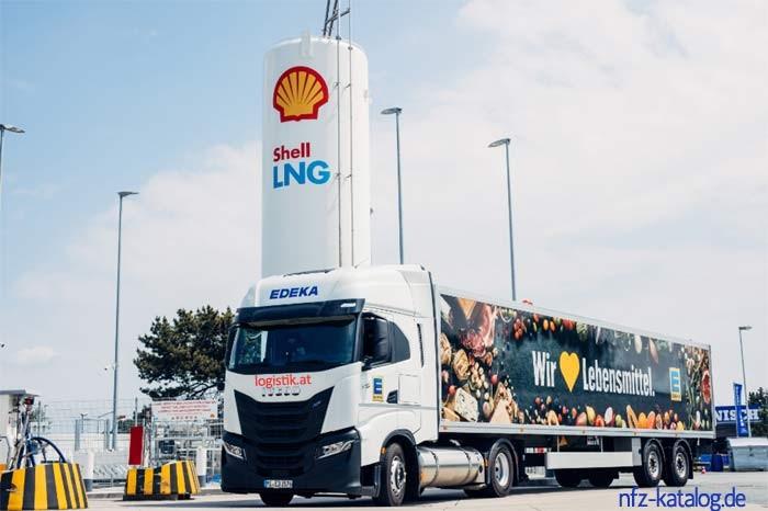 Shell Deutschland startet Erprobung mit Bio-LNG für den Güterverkehr