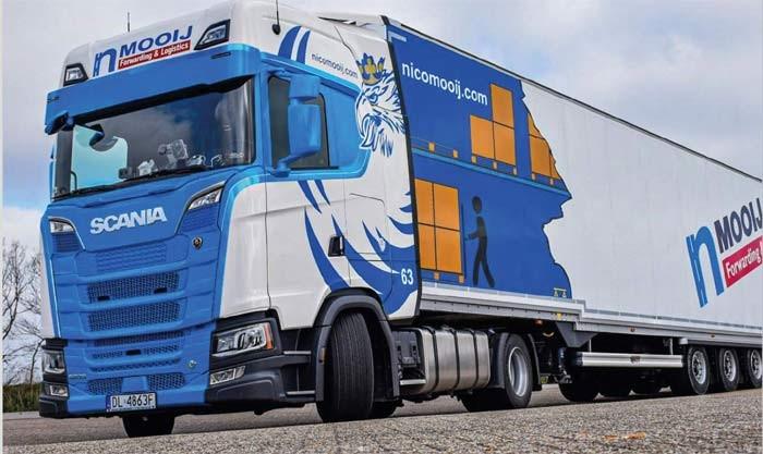 Logistiek dienstverlener Nico Mooij bestaat 35 jaar