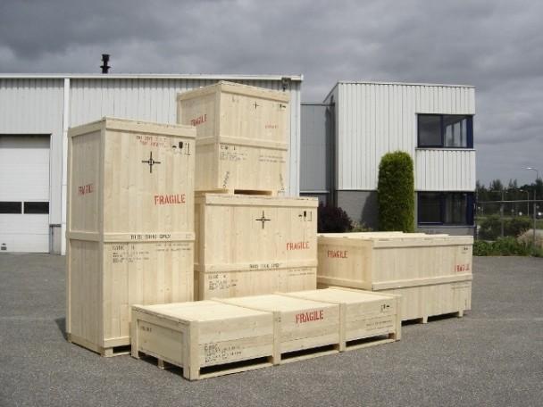 Houten verpakkingen Kisten en kratten
