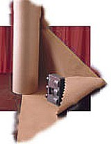 PackagingPro Bruinpak papierrol gestreept