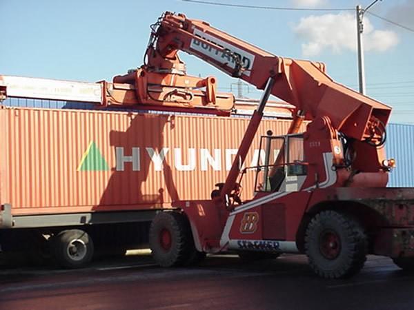 tweedehands containers 20/40ft  - DV/OT/FL/palletwide