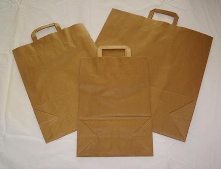 Kortpack Papieren Draagtassen