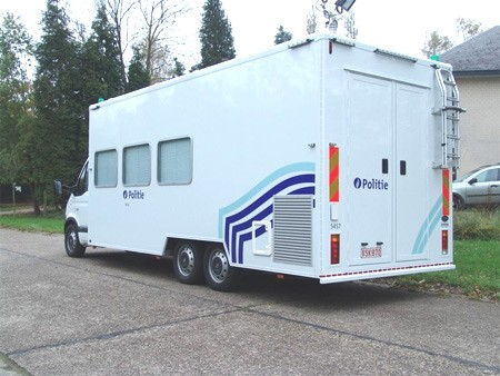 Coxx XF 6.2 - 69 Mobiel politiebureau