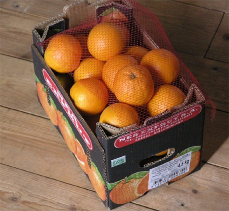 SCA Packaging Corrugated Boxes - Fruit and Vegetable Tray