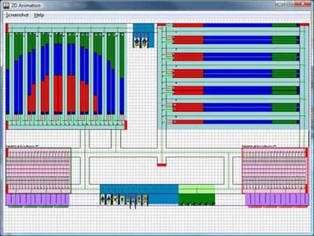Enterprise Dynamics ED Warehouse warehouse-simulatie