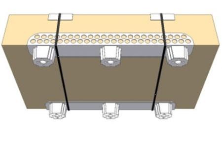 Optiledge kunststof palletvoeten