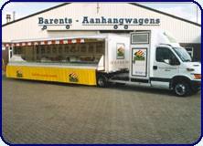 Barents verkoopwagen