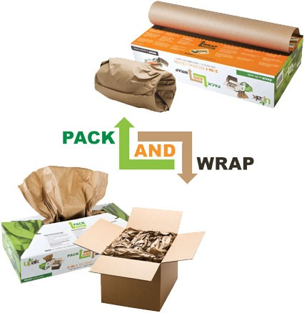 Upak pack and wrap
