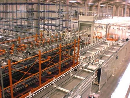Automatische vrachtwagenbelading in recordtijd bij SAS Automotive in Gent