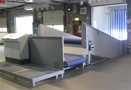 Ancra Systems Automatische lossystemen voor postpakketten bij Post Danmark