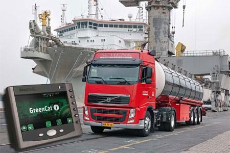 Schenk Tanktransport bestelt boordcomputers van GreenCat