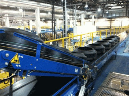 Van Riet Tire Conveyor System