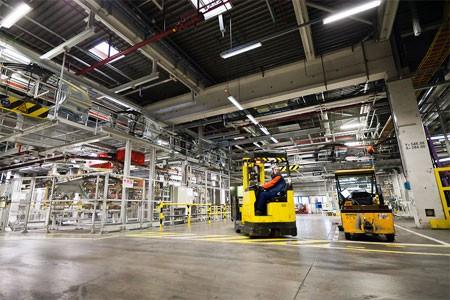 Volvo Cars Gent verbetert logistieke en productieprocessen met simulatie