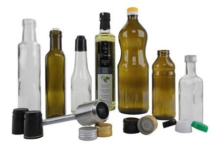 Dijkstra Olijfolie- en azijnflessen