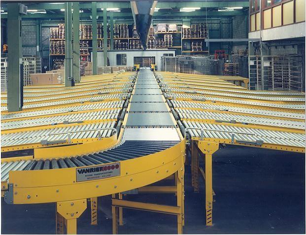 Van Riet Material Handling Systems Vari Sorter