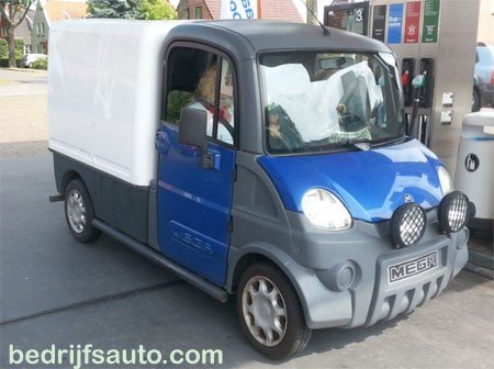 Mega Multitruck Van Diesel 600 (bromfietsrijbewijs)