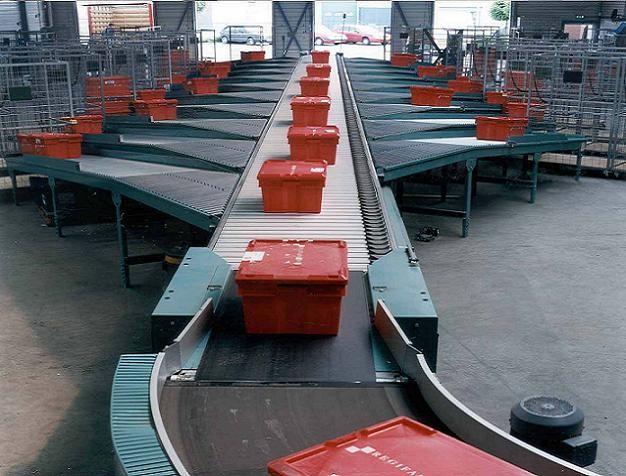 Van Riet Material Handling Systems ACE Shoe Sorter