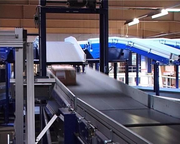Material Handling Systems AB Vertical Sorter