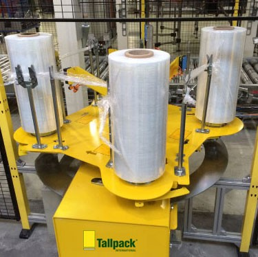 Tallpack ARC Automatic Reel Changing