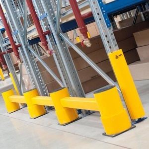 A-Safe Aanrijdbeveiliging: Rack End Barrier