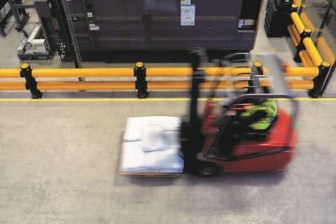 A-Safe Aanrijdbeveiliging: Traffic Barrier double rail