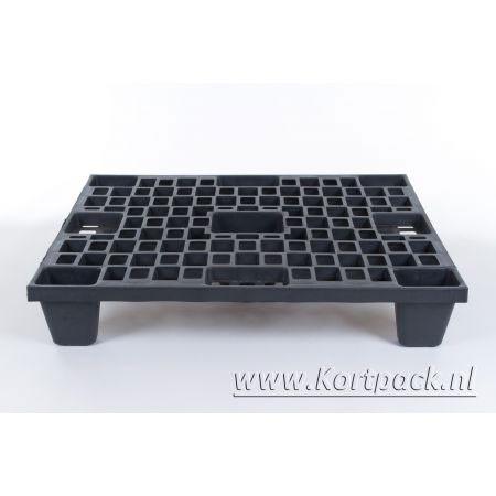 Plastic pallet nestbaar 80 x 60 cm