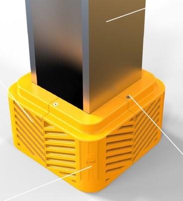 A-Safe Aanrijdbeveiliging: iFlex Column Protector