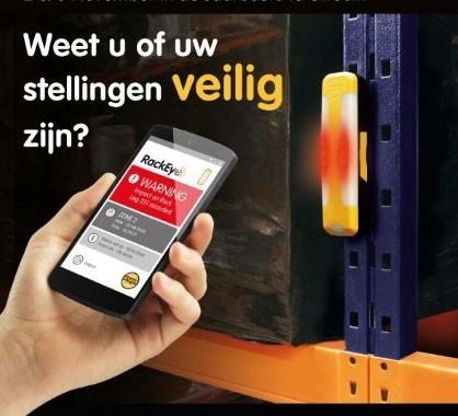 Nieuws: A-Safe RackEye Lancering RackEye systeem in Nederland