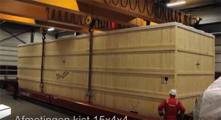Holland Packing Houten Transportkist 15 x 4 x 4 m