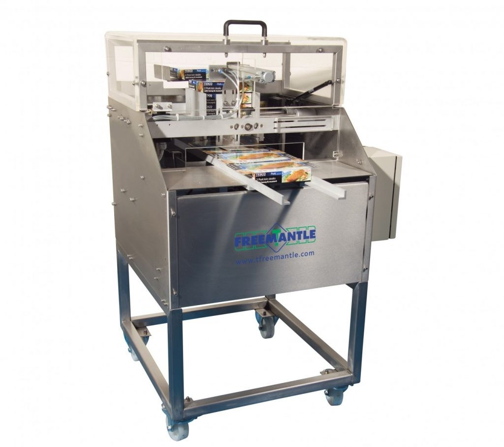 T. Freemantle Semi automatische Two Flap dozensluitmachine