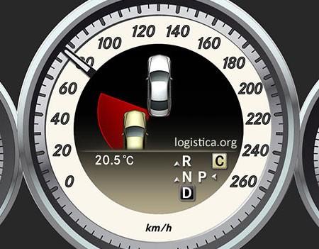 Mercedes-Benz Optie 237 Actieve dodehoekassistent