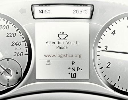 Mercedes-Benz Optie JW8 Attention Assist