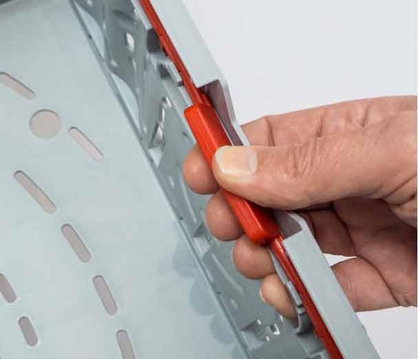 Cabka Dry-box met Active-Lock sluitsysteem