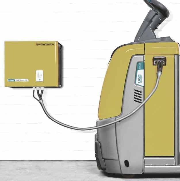 CEVA Logistics stapt over op lithium-ion magazijntrucks