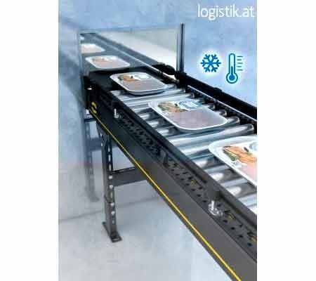 Interroll Modular Conveyor Platform voor koel- en vriesomgevingen