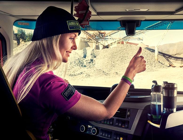 Volvo Trucks helpt klanten met werving van vrouwelijke chauffeurs