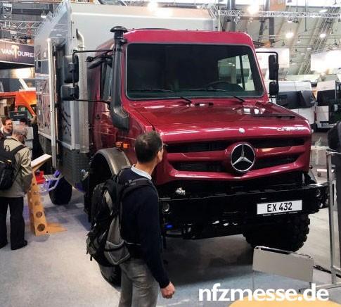 Mercedes-Benz - Bimobil Unimog 4x4 - EX432