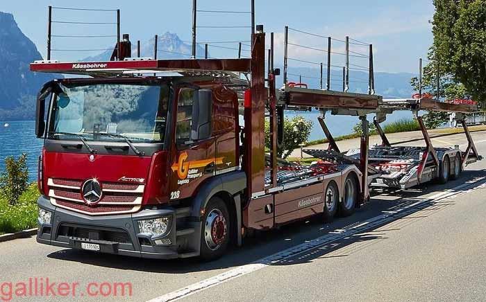 Mercedes-Benz / Käßbohrer Actros Autotransporter